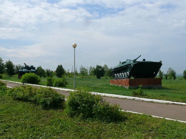 Pēc peldes Vjatkas upē piestājam Mamadišas parkā