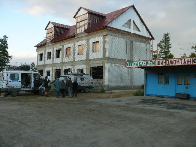 Improvizētā remonta zona Severobaikaļskā