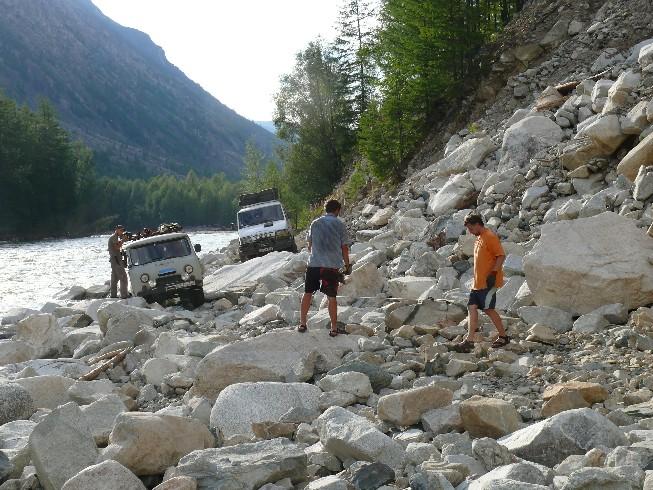 Akmeņu nogruvums pie Belaja upes