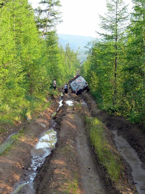 Kādi ir Krievijas ceļi, tādus arī fillmore brauc...